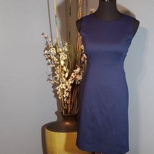 T Tahari Navy Blue Cali Dress size 2 NWT